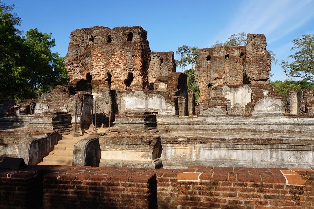 Royal Palace, Polonnaruwa, Sri Lanka