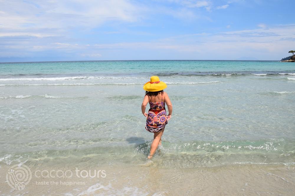 Makryammos Beach, Thassos, Greece