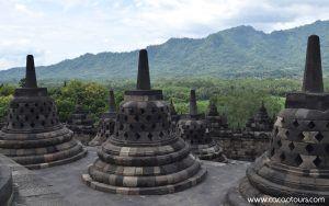 Боробудур, Ява, Индонезия