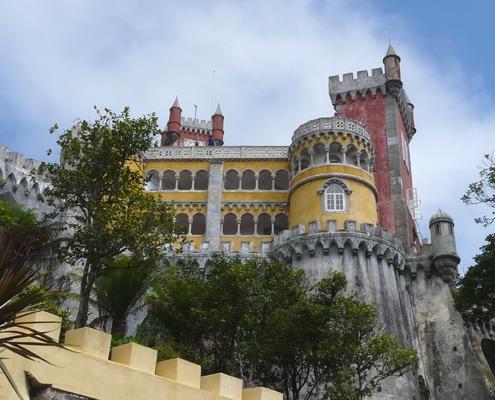 Двореца Пена, Синтра, Португалия