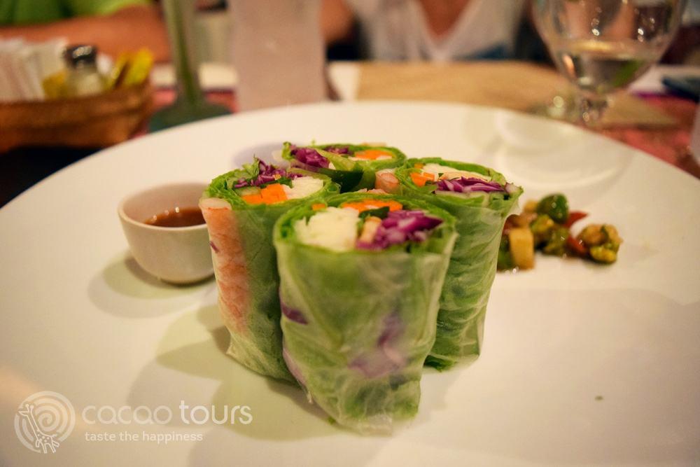 пролетни ролца по азиатска рецепта