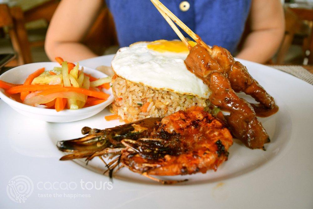 пържен ориз в Индонезия