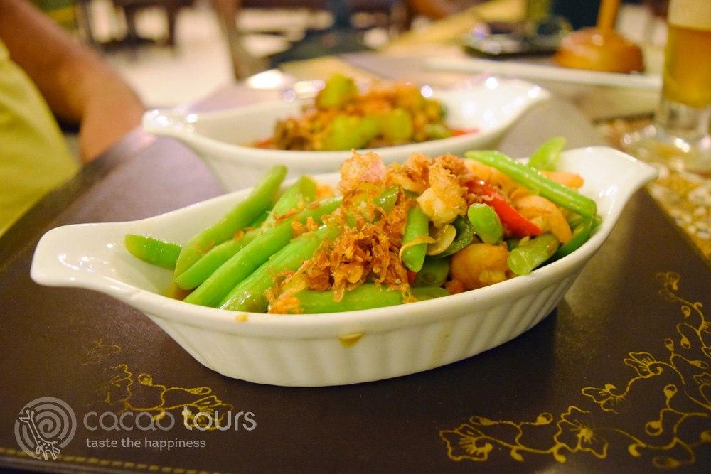 балийска салата от задушени зеленчуци