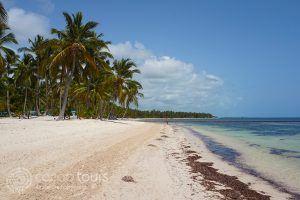 Плажът на хотел Catalonia Bavaro Beach Resort Punta Cana