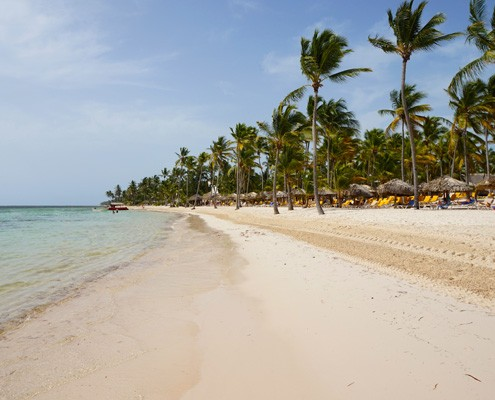 Плажът Catalonia Bavaro Beach Resort Punta Cana, Dominicana