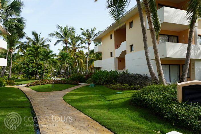 територията на хотел Catalonia Bavaro Beach Resort, Пунта Кана, Доминикана