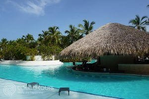Басейнът на хотел Catalonia Bavaro Beach Resort Punta Cana, Пунта Кана, Доминикана