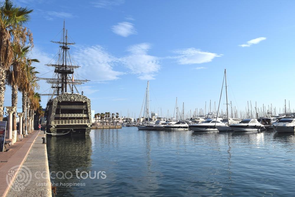 Пристанището на Аликанте,  Испания (Alicante, Spain)