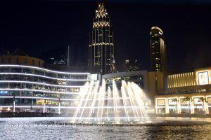 Burj Khalifa fontains, Dubai, UAE