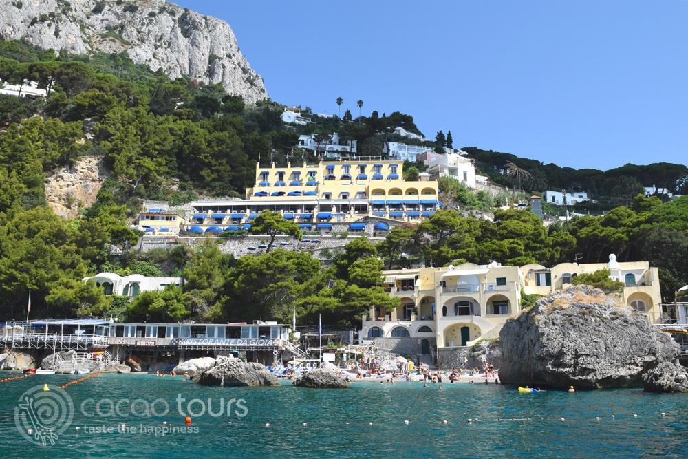 с лодка от Соренто до Капри (Capri, Italy)