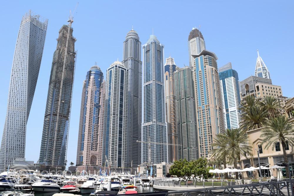 Небостъргачите на Дубайската марина