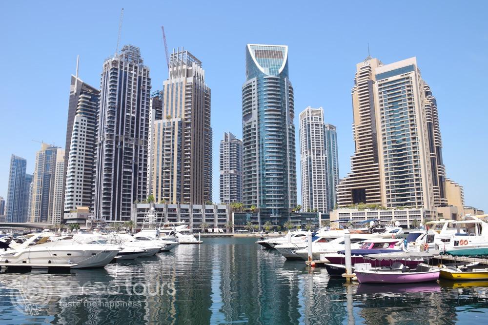 Яхтите на Дубай Марина (Dubai Marina)