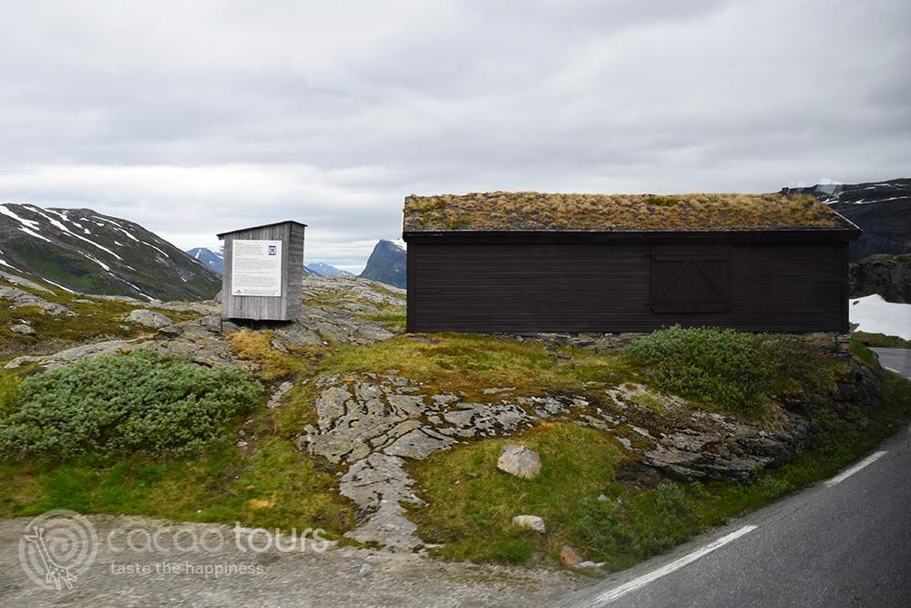 гледката към норвежките фиорди от планината Далснибба (Dalsnibba, Geirangerfjord, Norway)