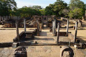 Hetadage, Polonnaruwa, Sri Lanka