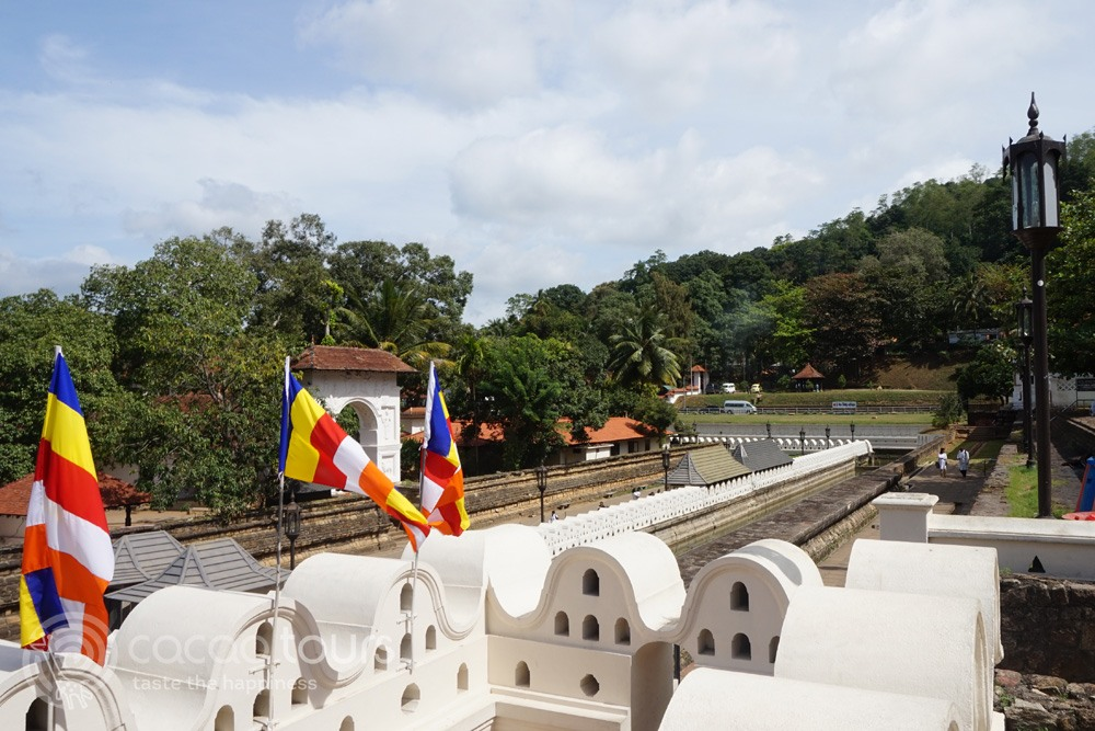 Sri Dalada Maligawa, Kandy, Sri Lanka