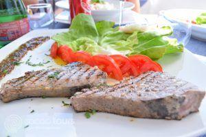 риба тон стек