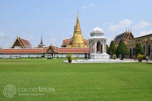 Входът към Кралският дворец, Банкок, Тайланд