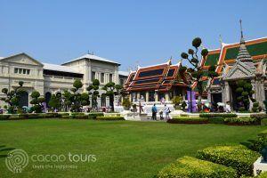 Кралският дворец в Банкок, Тайланд