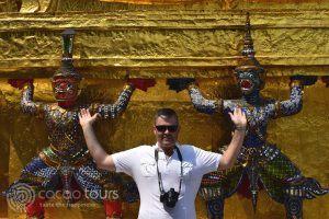 снимка, Кралският дворец, Банкок, Тайланд