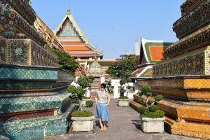 снимка в Ват По, Банкок, Тайланд