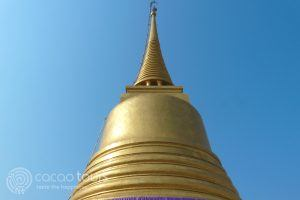 златна ступа, Ват Сакет, Банкок, Тайланд