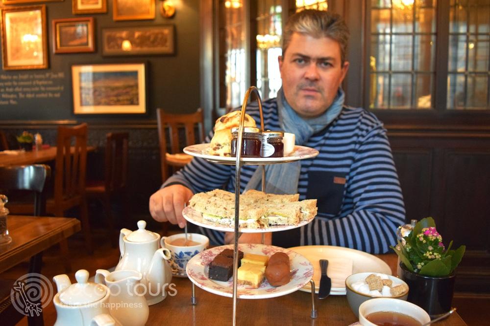 Английски чай в Лондон, Англия (English tea, London, United Kingdom)