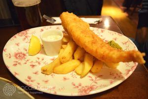 Fish and chips, London, United Kingdom