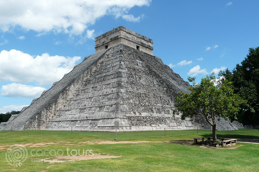 Чичен Ица, Мексико (Pyramid of Kukulkan, Chichen Itza, Mexico)