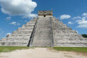 Pyramid of Kukulkan, Chichen Itza, Mexico