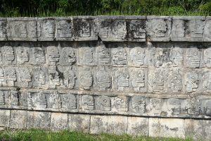 Tzompantli, Chichen Itza, Mexico