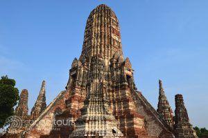 Ват Чай Ваттанарам в Аютая, Тайланд
