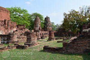 територия на Ват Махатат, Аютая, Тайланд
