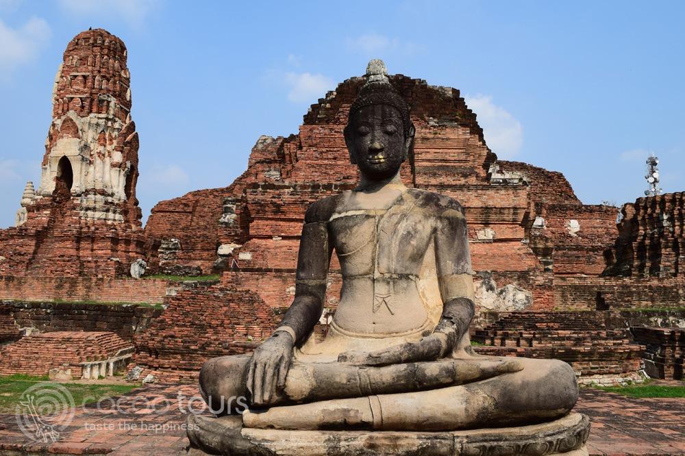 Буда в Ват Махатат, Аютая