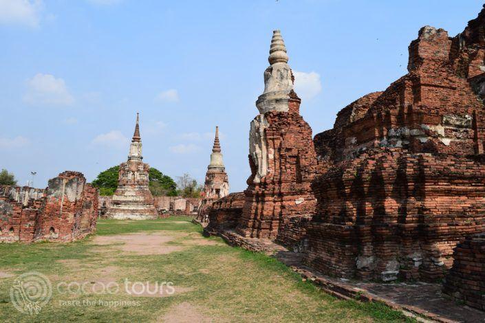 Ват Махатат, Аютая в Тайланд