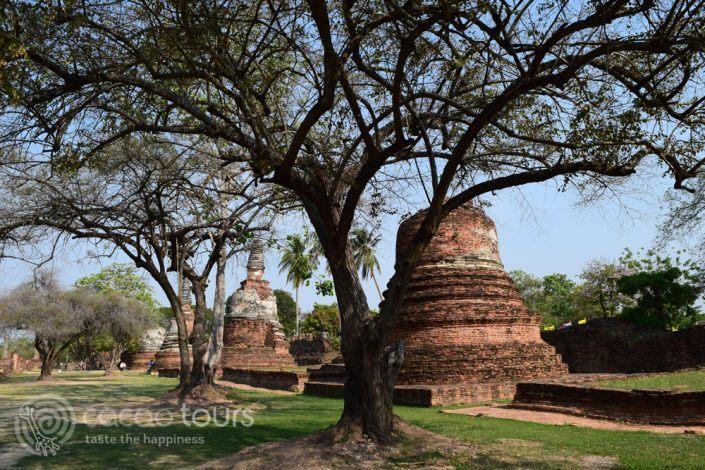 Ват Пра Си Санпет в Аютая, Тайланд