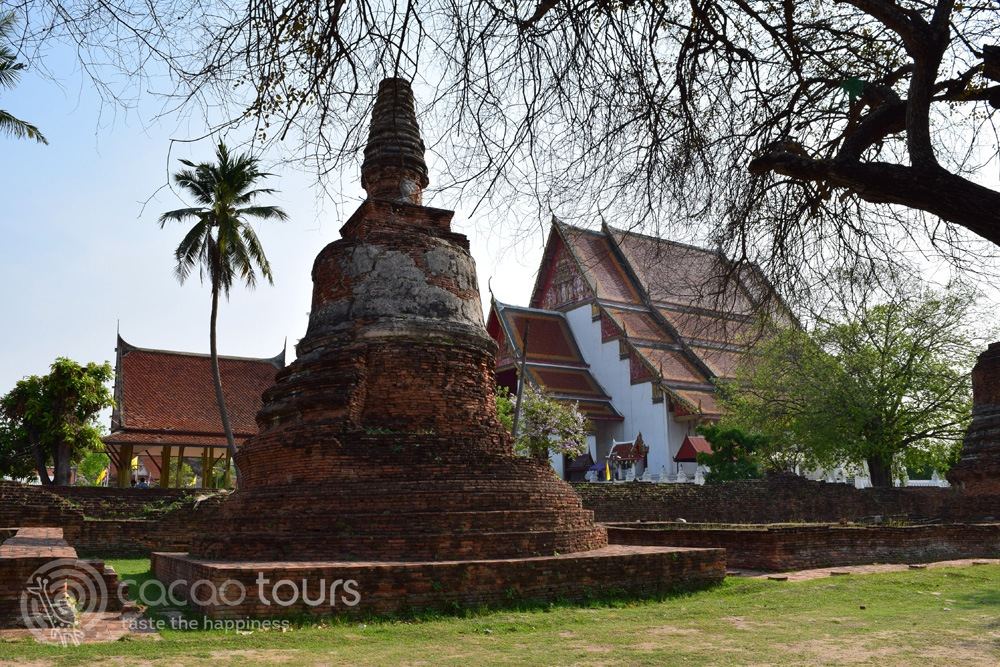 Wiharn Phra Mongkol Bophit, Ayutthaya, Thailand