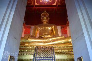 Буда, Ват Уихан Пра Монгкхон Бопит, Аютая, Тайланд
