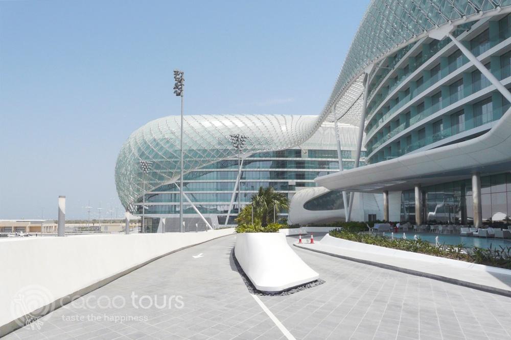 Yas Viceroy Hotel, Yas Marina, Abu Dhabi, UAE