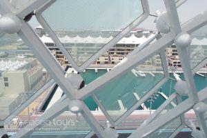 гледка от хотел Yas Viceroy, Яс Марина, Абу Даби, ОАЕ