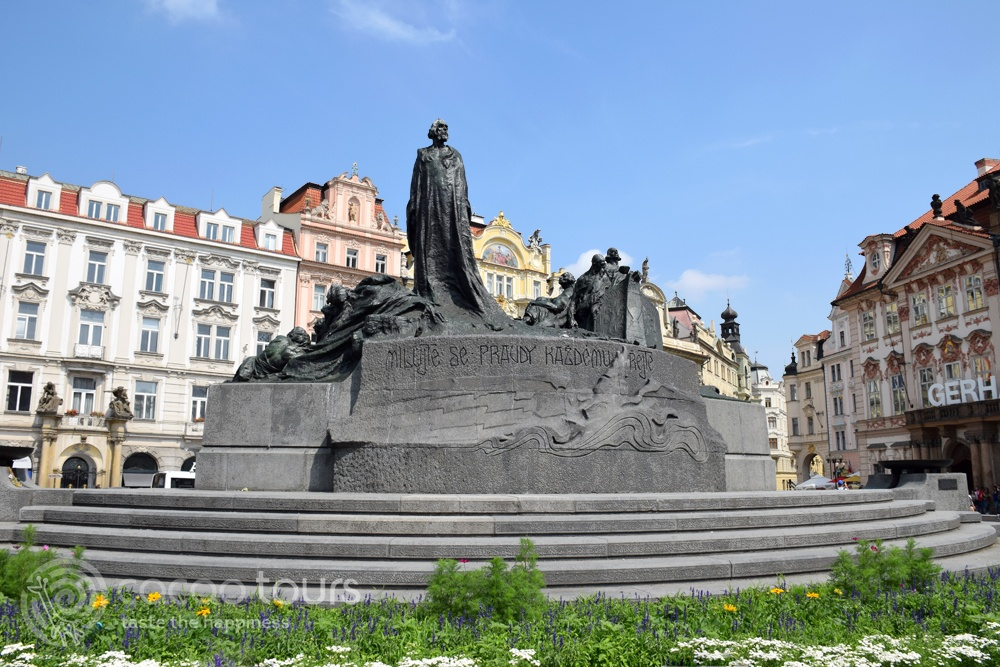 Jan Hus, Prague, Czech Republic