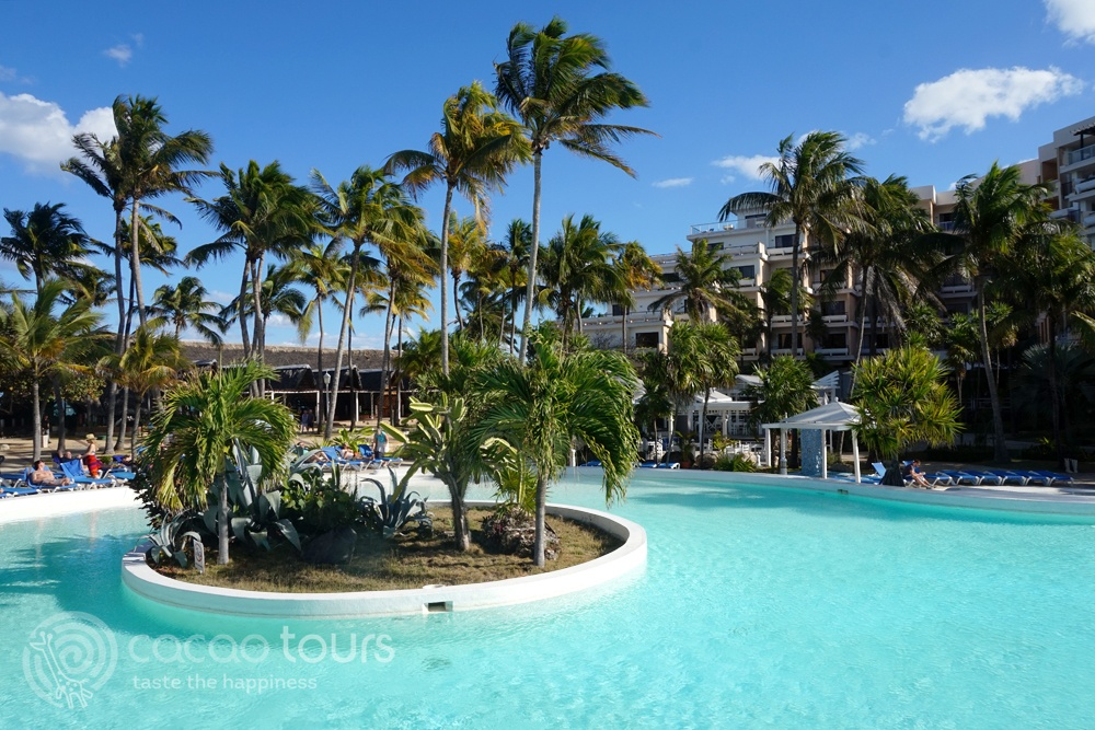 басейнът на хотел Melia Varadero, Варадеро, Куба