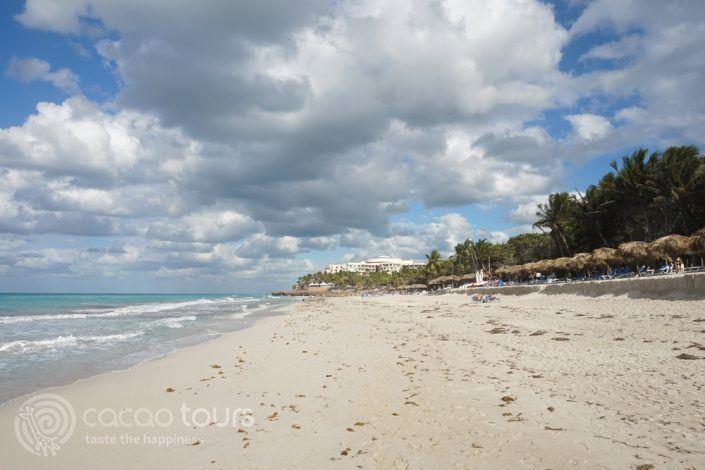 плажът пред хотел Melia Varadero, Варадеро, Куба