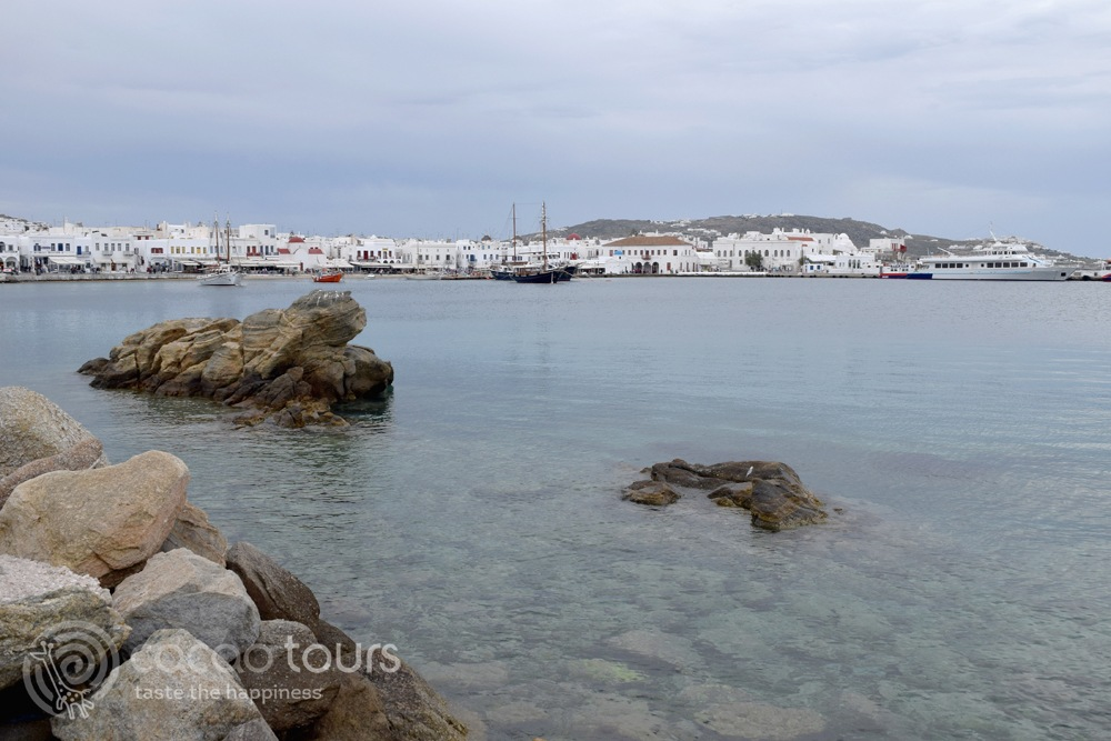 """Първа спирка от великденския круиз """"Егейски легенди"""" - остров Миконос (Mykonos, Greece)"""