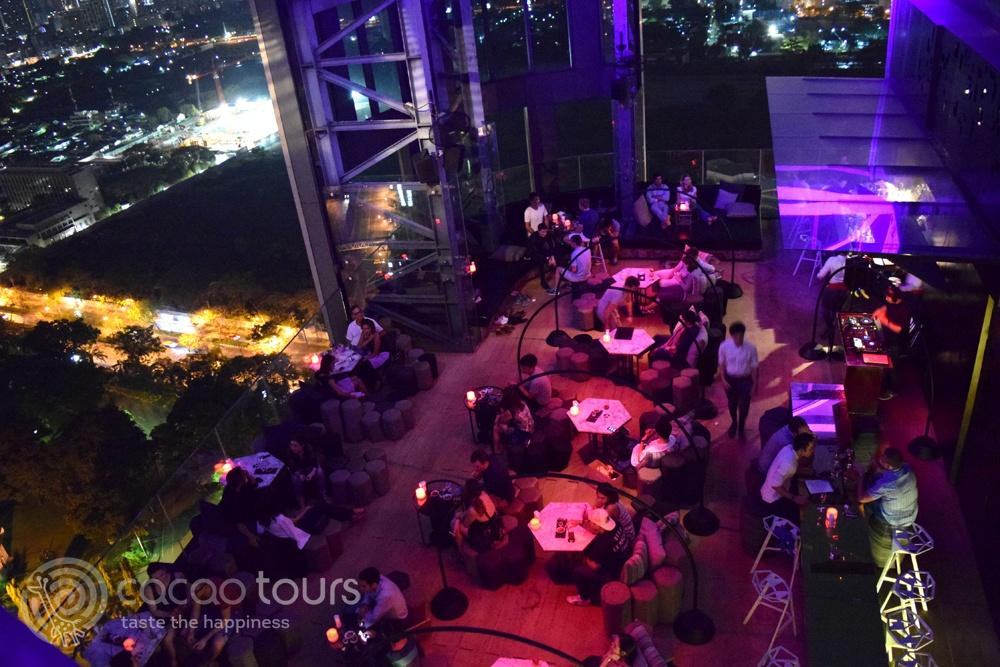 Скай бар Park Society Rooftop Bar, Bangkok, Thailand