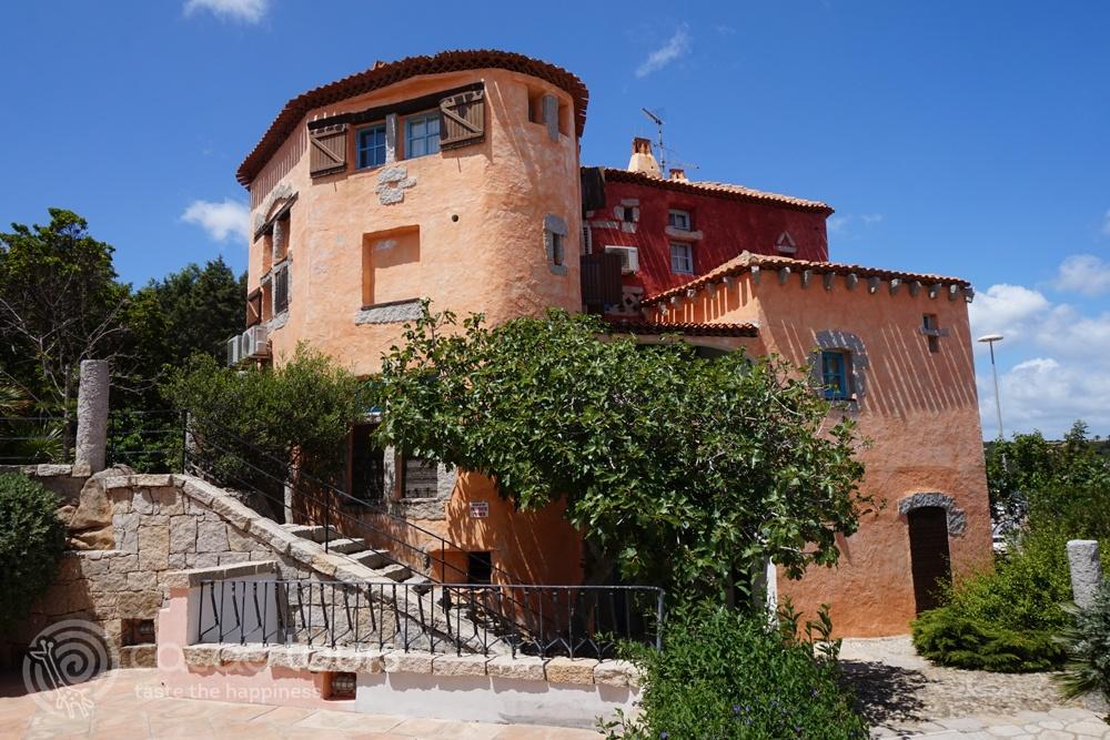 Къща в Порто Черво, Коста Смералда, Сардиния, Италия (Porto Cervo, Costa Smeralda, Sardinia, Italy)