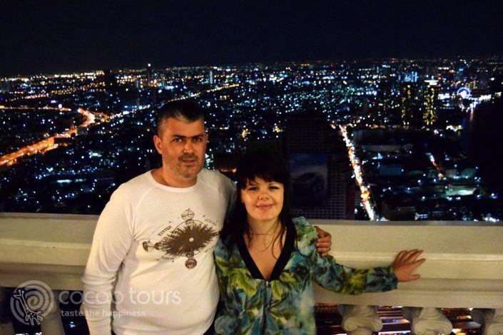 снимка в скай бар Лебуа, Банкок, Тайланд