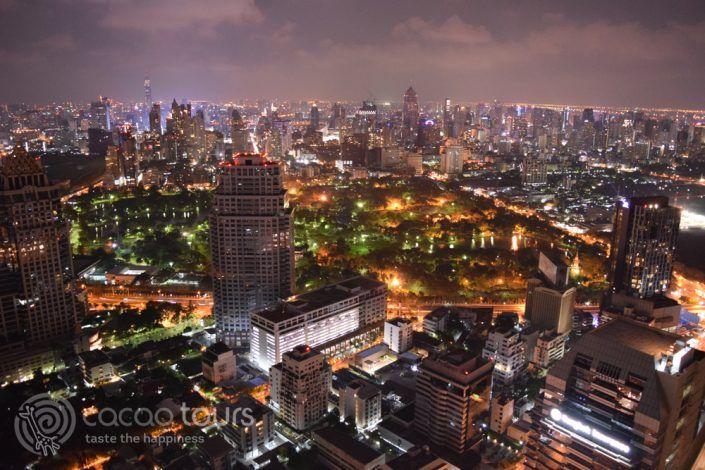 скай бар Вертиго в Банкок, Тайланд