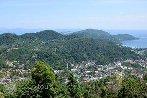 гледка от Биг Буда, остров Пукет, Тайланд