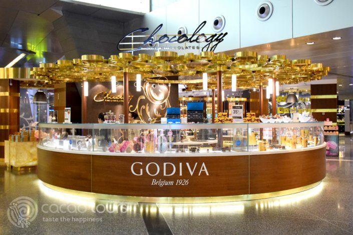 Годива, летище Hamad International Airport, Доха, Катар