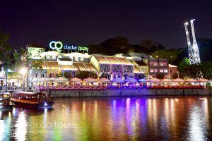 Кларк Кей, Сингапур